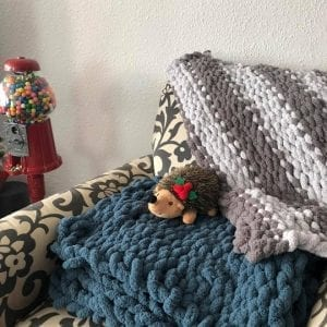 Hand-Crocheted Lap and Lounge Blankets