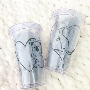 Aussie Animal Tumblers